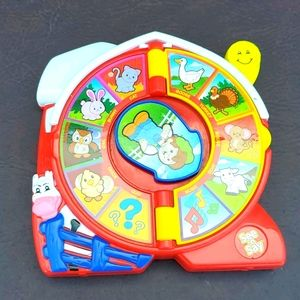 Mattel see and say farm animal toy